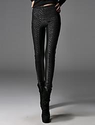le punk rave pk-009 Vintage / sexy / moulantes extensible pantalon skinny épais de femmes
