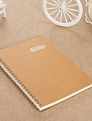 Classic A5 Business Coil Notebook Diary Exercise Book (Random Styles)