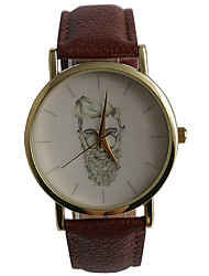 Foreign Trade Explosion Models Men Watch Cute Beard Old Man Quartz Watch