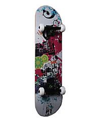 skate clássico (53 * 36 milímetros) branco / preto