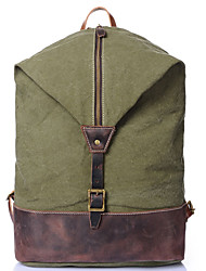 Men Canvas Casual Backpack / Travel Bag / Bucket bags