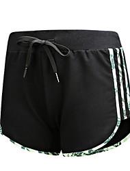 Damen Laufschuhe Atmungsaktiv Komfortabel Hosen/Regenhose für Übung & Fitness Laufen Baumwolle Chinlon Lose Schwarz Blau Grau M L XL XXL