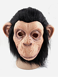 cosplay hommes femmes latex masques de singe caoutchouc boule de partie à part entière mardi face masque de gras costume balle de