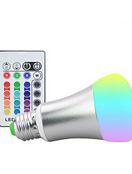 10W E27 RGB Led Lamp With Memory 16 colors Spot Led Light Bulb Dimmable Lampada (85-265V)