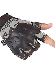 Luvas de metade do dedo do sexo masculino forças especiais fãs militares equitação luvas de moto motocicleta