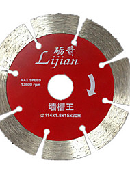 Grind The Sword  Diamond Saw Cutting Discs Slotted Groove Concrete Wall Saw Cutting Discs Stone Wall Tank Dedicated