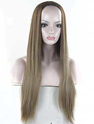 Europe Coffee And Grey Heat Resistant Hair Synthetic Wigs Full Lolita Wigs Perruque