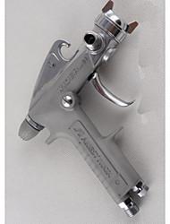 1.0 200mm calibre déchargé de la quantité de 160 (ml / s) w-61s pot en acier inoxydable peinture d'aspiration pistolet