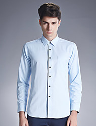 Autumn new shirt cotton men's shirts wash and wear business men's wear long sleeve white shirt SY-1886