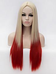Perruques sans bonnet Perruques pour femmes Blond Perruques de Costume Perruques de Cosplay