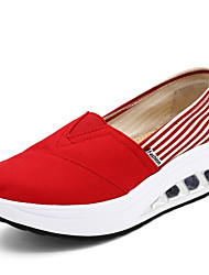 Women's Sneakers Spring/Summer/Fall/Winter Platform/Creepers/Comfort/Crib Shoes/Styles/Round Toe/Closed Toe Canvas