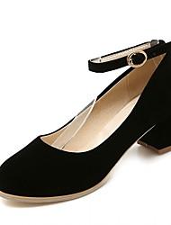Women's Heels Spring / Summer / Fall / Winter Heels Microfibre /