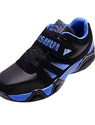 Men's Sneakers Spring / Fall Comfort Tulle Athletic Flat Heel  Blue / Red / White Walking / Running