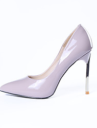 Women's Heels Spring / Fall Heels / Pointed Toe Leatherette Outdoor / Office & Career / Casual Stiletto Heel Slip-on