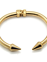 Bracelet Bracelets Rigides / Manchettes Bracelets Acier au titane Forme de Cercle Durable / ModeMariage / Soirée / Quotidien /