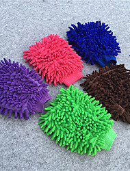 Cache Chenille Velvet Glove Car Wash Tool,Paint-safe Wash Mitt