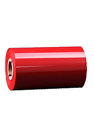 The Color Red Wax Ribbon Barcode Printing Ribbon Label Printing Ribbon