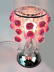 1шт розы сладкий лампа АИНГ вид украшенный подарок Настольная лампа сенсорной сущности масляной лампы подключены к электроэнергии