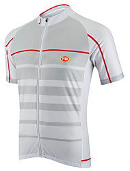 Sports® Cycling Jersey Men's Short SleeveBreathable / Quick Dry / Front Zipper / Reduces Chafing / Seamless / Ultra Light Fabric / Soft /