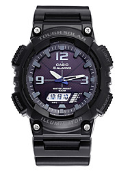 Casio Brand Men's Watch Sport Series Solar Shock Resistant Waterproof Chronograph Double Movement Fashion Wrist Watch With Watch Box AQ-S810W-1A2