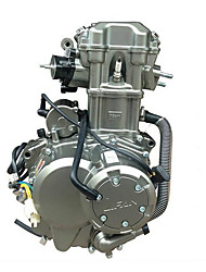 Lifan Engine Cool 200cc Water-Cooled Automatic Double Clutch Engine Assembly Operation