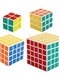Shengshou® Cube de Vitesse  2*2*2 3*3*3 4*4*4 5*5*5 Vitesse Niveau professionnel Cubes magiques Blanc Anti-pop ressort réglable ABS