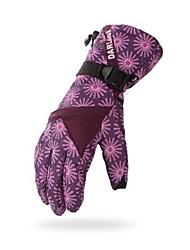 lyžařské rukavice Celý prst Dámské Akvitita a sport Zahřívací Větruvzdorné Odolný proti opotřebení GQY®Lyže Cyklistika/Kolo Outdoor a
