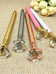 Metal Crystal Stones High-grade Large Diamond Pen