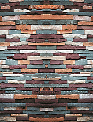 JAMMORY Wallpaper For Home Wall Covering Canvas Adhesive required Mural Various Irregular Brick Pattern3XL(14'7''*9'2'')
