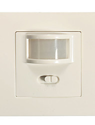 1pcs 2in1 Auto On/Off Infrared PIR Sensor Switch Recessed Wall Light(AC200-240V)