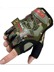 Spring and Summer Seal Men'S Outdoor Sports Tactical Bike Riding CS Semi Finger Gloves