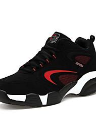 Unisex Sneakers Spring / Fall Comfort Fabric Casual Flat Heel Black / Blue / Green / Red Walking