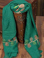 Damen Waschbär-Pelz Schal