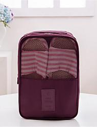 manuales plegable de transporte bolsa de viaje de zapatos necesarias bolsa de almacenamiento de zapatos impermeables