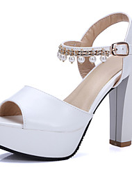 Women's Sandals Spring / Summer / Fall /  Peep Toe / Platform / Sandals  Wedding / Party & Evening / Dress