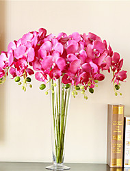 Hi-Q 1Pc Decorative Flowers Butterfly Orchid Wedding Home Table Decoration Artificial Flowers