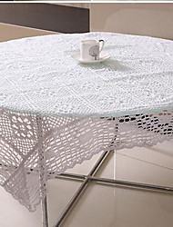 100% Coton Carré Nappes de table