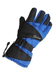 лыжные перчатки Зимние Муж. / Все Спортивные перчатки Сохраняет тепло / Водонепроницаемый / Ветронепроницаемый ПерчаткиКатание на лыжах /