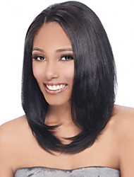 14-18inch Long Bob Hairstyles For Women Lace Front Human Hair Wigs
