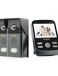 KiVOS® KDB303 Wireless Visual Doorbell Home Door Bell Remote Control Camera Phone Call
