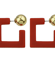 Earring Geometric Jewelry Women Bohemia Style / Fashion Party / Daily / Casual Alloy / Acrylic 1 pair Gold KAYSHINE