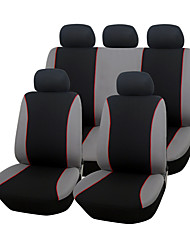 siège de voiture de polyester autoyouth couvre universel ajustement complet siège conception simple protection de siège de voiture style