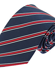 Formal Business Casual Polyester Silk Men Neck Tie