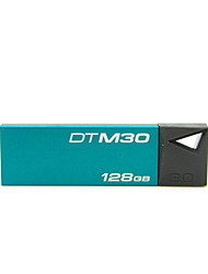 Kingston DTM30 Pen Drive 128GB USB 3.0 Mini Metal Stick Pendrive Flash Disk
