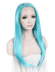 IMSTYLE 24 Popular Long Natural Straight Synthetic Lace Front Wigs