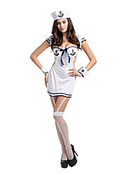 Women's Sailor Navy Sexy Lingerie Garter Fancy Halloween Costume
