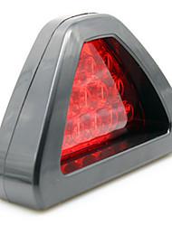lampe de frein automobile rafale conduit clignotant triangle frein lampe générale modifiée feu arrière du véhicule