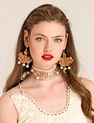 YIGELILA Necklace Choker Necklaces Jewelry Daily Fashion Alloy Gold 1pc Gift-Y083