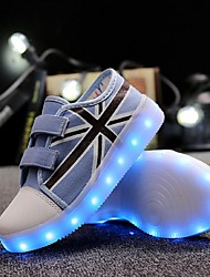 Boy's Sneakers Spring / Summer / Fall / Winter Comfort / Round Toe / Flats Canvas Party & Evening / Athletic / LED