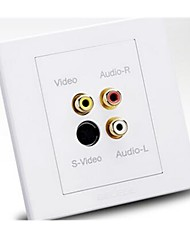 Wall Socket Switch Socket Panel Multifunction Smart Audio Video Socket